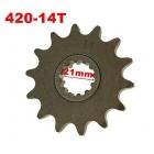 PINION TRACTIUNE FATA 420-14T PAS 420 / 14 DINTI