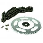 PINIOANE KIT CU LANT Chain & Sprocket Set AFAM Aprilia RS50 '03-'05