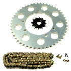 PINIOANE KIT CU LANT Chain & Sprocket Set AFAM Beta RR Enduro 50 '03-'06