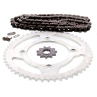 PINIOANE KIT CU LANT Chain & Sprocket Set AFAM Beta RR Enduro 50 '12-'16