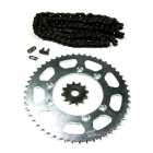 PINIOANE KIT CU LANT Chain & Sprocket Set AFAM Beta RR Enduro 50 '02-'05